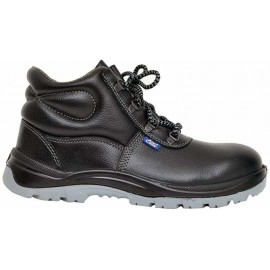 Safety Shoe S.T. Booty Print Leather - PU -  D.D - D.C Sole - High Ankle - AC-1008