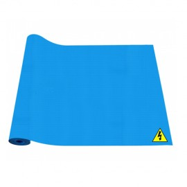Insulating Mat For Electrical Purpose Class - A. Size - 1m x 2m x 2mm ISI Mark - Blue