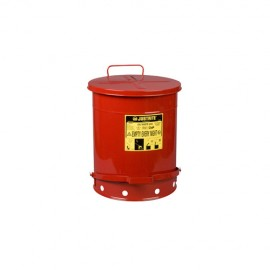 JUSTRITE -  09500 - 14 GAL OIL WASTE CAN RED