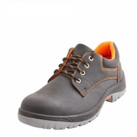 BROOKLYN Safety Shoe S.T - Nitrile PVC Sole - D.D - Low Ankle - BT Thick Leather