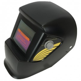 Auto Darkening Welding Helmet Shade 9 - 13 Model : WH4001 with 2 Nos of Cover Plates - 83 x 108mm